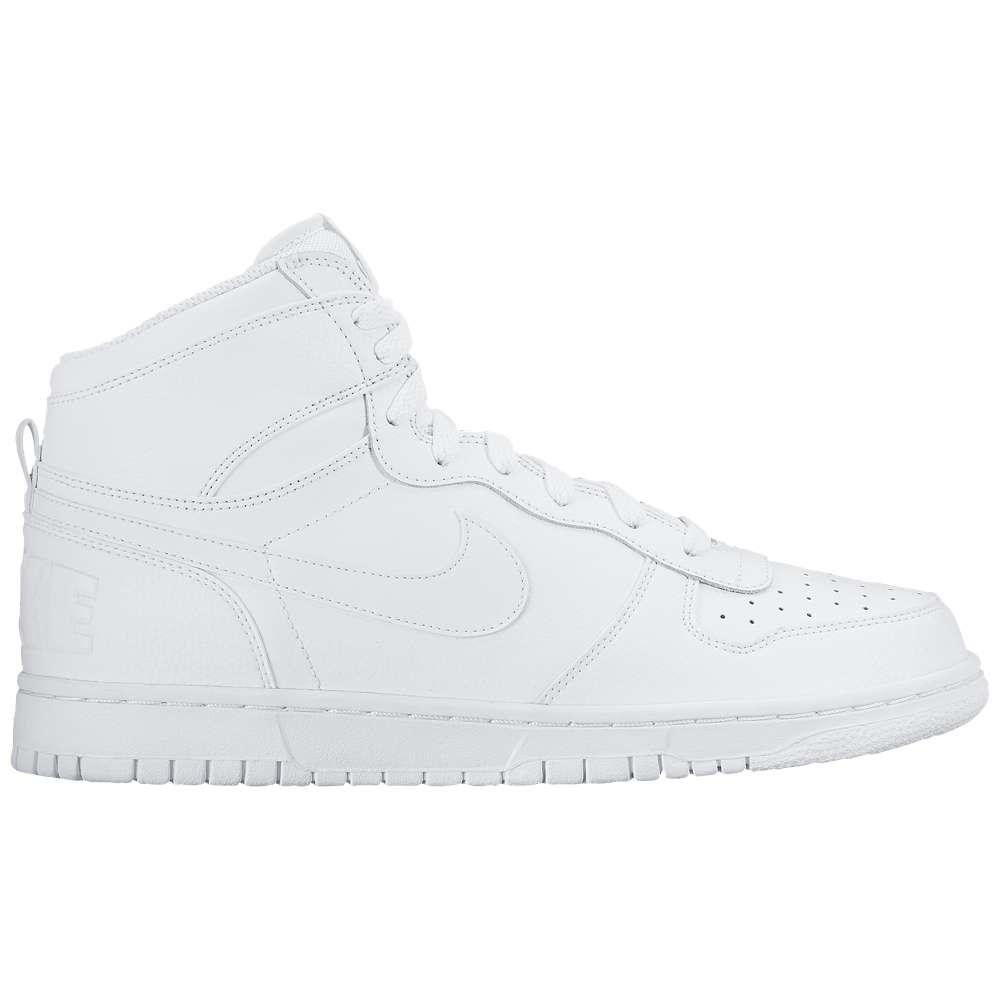 ナイキ メンズ バスケットボール シューズ・靴【Big High】White/Black/White