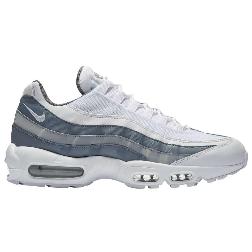 ナイキ メンズ ランニング・ウォーキング シューズ・靴【Air Max 95】White/White/Cool Grey/Wolf Grey