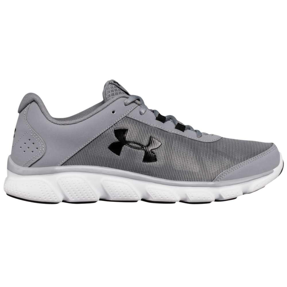 アンダーアーマー メンズ ランニング・ウォーキング シューズ・靴【Micro G Assert 7】Steel/White/Black