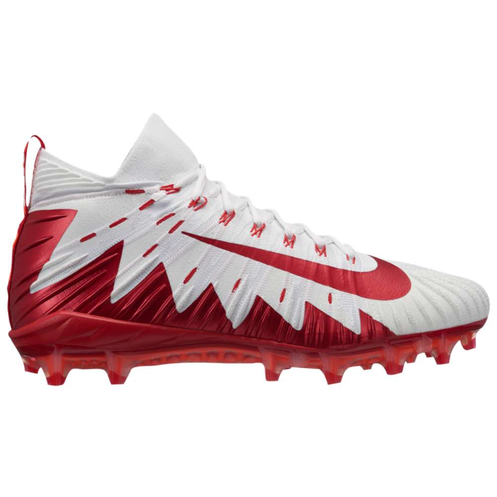 ナイキ メンズ サッカー シューズ・靴【Alpha Menace Elite】White/University Red/Team Crimson/Pure Platinum