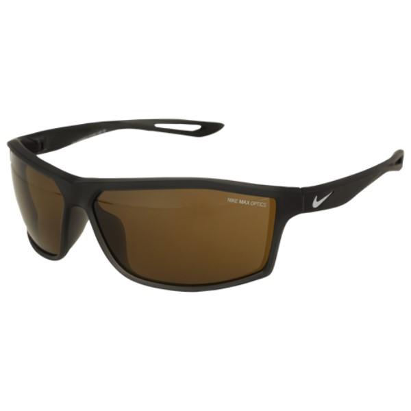 ナイキ ユニセックス スポーツサングラス【Intersect Sunglasses】Matte Anthracite/Wolf Grey