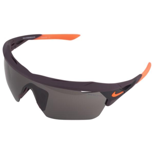 ナイキ ユニセックス スポーツサングラス【Hyperforce Elite M Sunglasses】Port Wine/Hyper Crimson