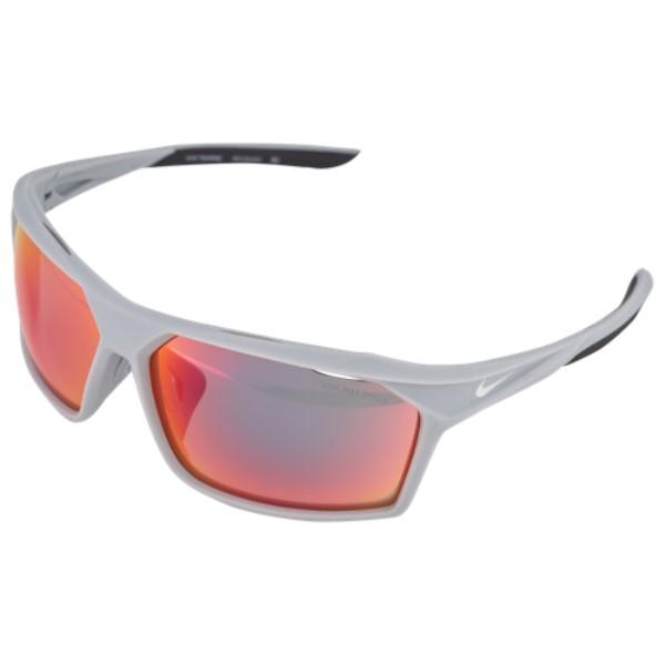 ナイキ ユニセックス スポーツサングラス【Traverse M Sunglasses】Matte Wolf Grey/White