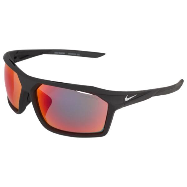 ナイキ ユニセックス スポーツサングラス【Traverse M Sunglasses】Matte Black/White