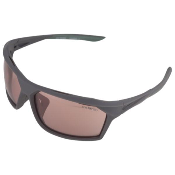 ナイキ ユニセックス スポーツサングラス【Traverse M Sunglasses】Matte Dark Grey/Black