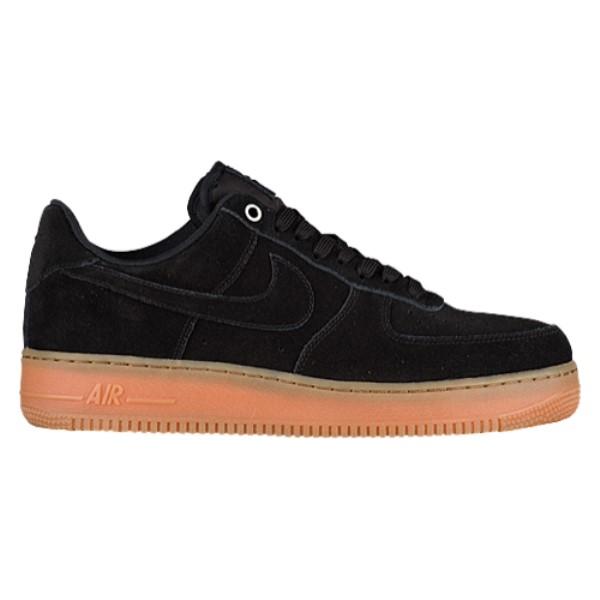 ナイキ メンズ バスケットボール シューズ・靴【Air Force 1 LV8】Black/Black/Gum Med Brown/Ivory