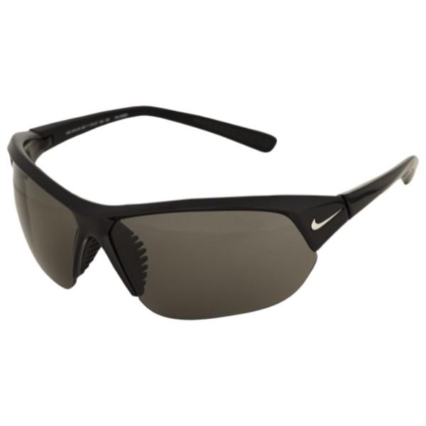 ナイキ ユニセックス スポーツサングラス【Skylon Ace P Sunglasses】Shiny Black/Silver