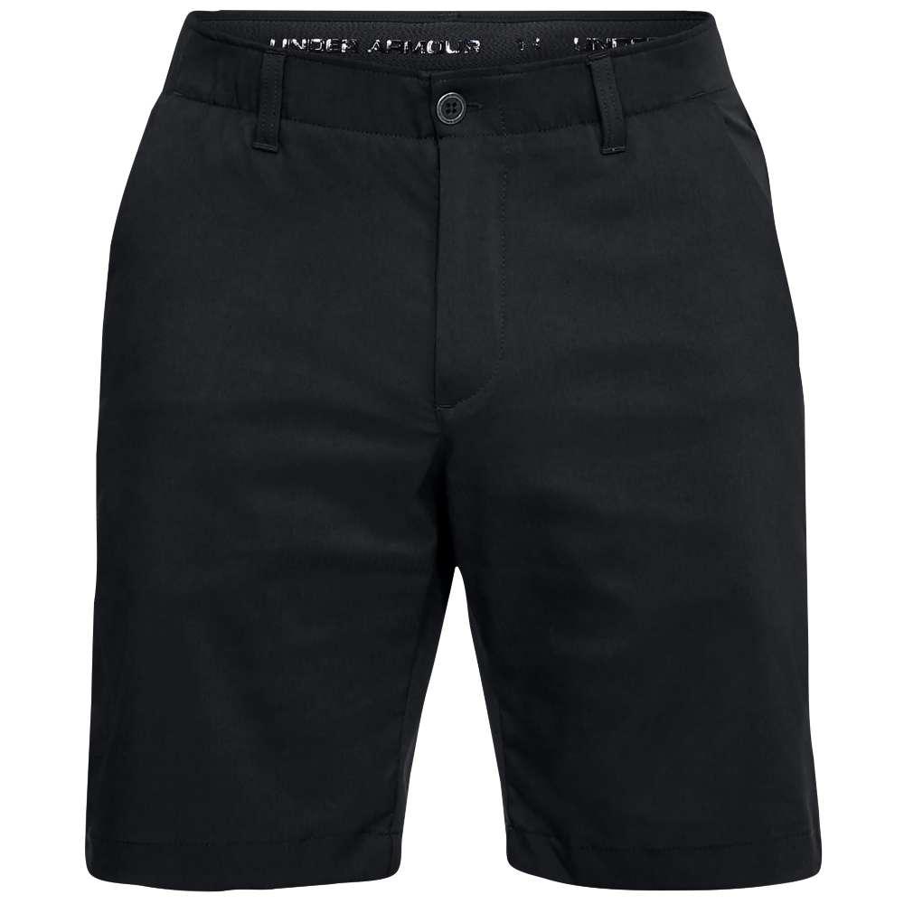 アンダーアーマー メンズ ゴルフ ボトムス・パンツ【Showdown Golf Shorts】Black/Steel Medium Heather/Black