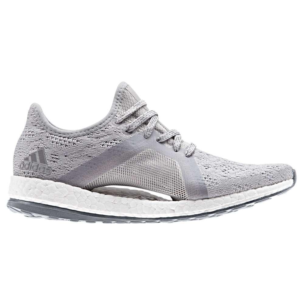 アディダス レディース ランニング・ウォーキング シューズ・靴【Pure Boost X Element】Grey Two/Grey Three/Blue