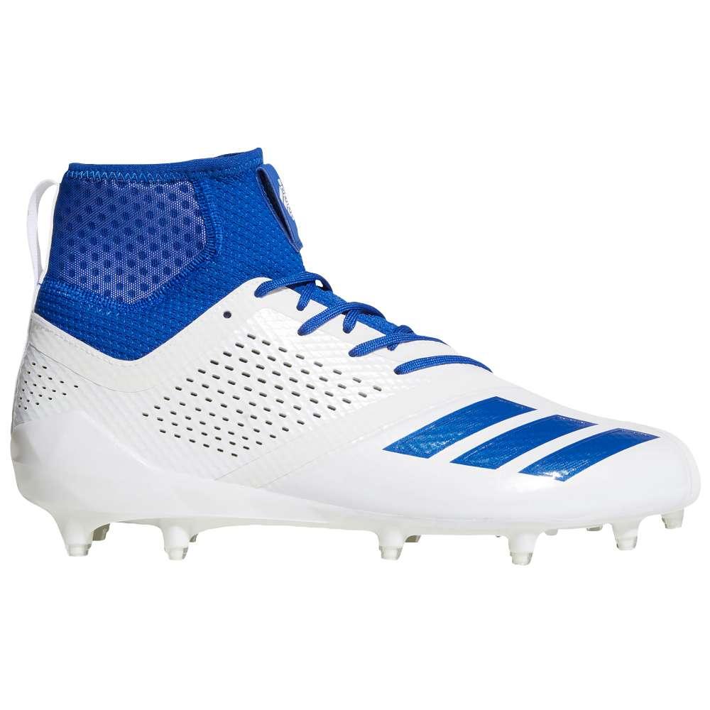 アディダス メンズ アメリカンフットボール シューズ・靴【adiZero 5-Star 7.0 Mid】White/Collegiate Royal/Collegiate Royal