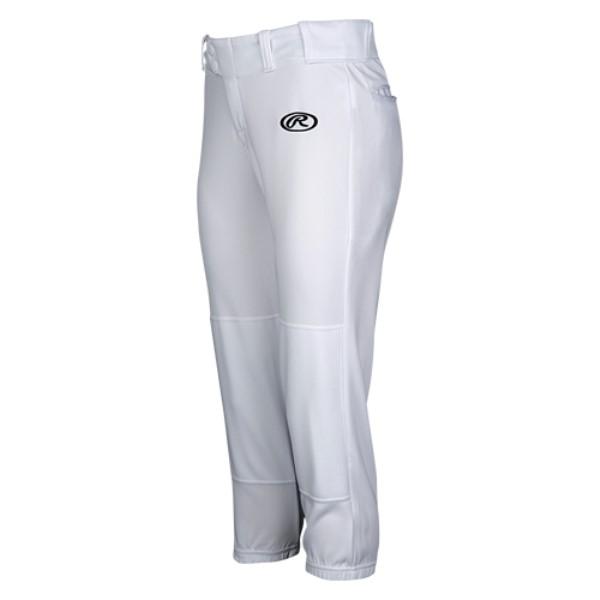 ローリングス レディース 野球 ボトムス・パンツ【Low Rise Fastpitch Pants】White