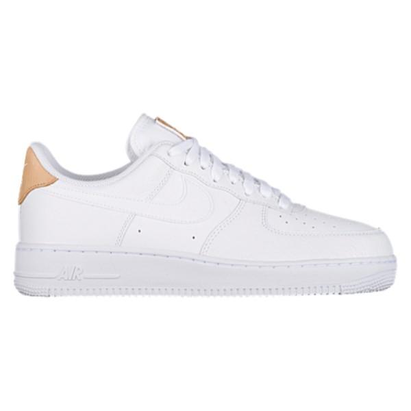 ナイキ メンズ バスケットボール シューズ・靴【Air Force 1 LV8】White/White/Gum Light Brown/Vachetta Tan