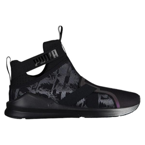 プーマ レディース フィットネス・トレーニング シューズ・靴【Fierce Strap Swan】Black/Black