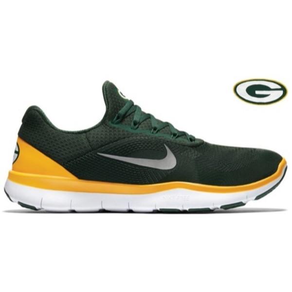 ナイキ メンズ フィットネス・トレーニング シューズ・靴【Free Trainer V7】Green/Chrome/University Gold/White