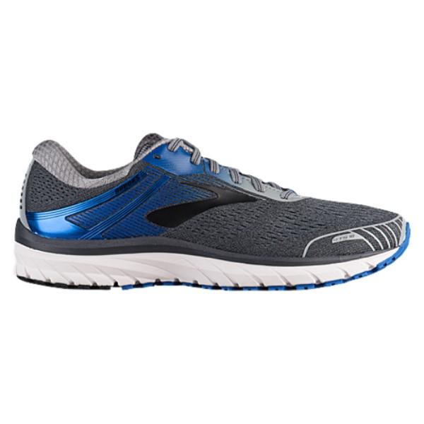 ブルックス メンズ ランニング・ウォーキング シューズ・靴【Adrenaline GTS 18】Grey/Blue/Black