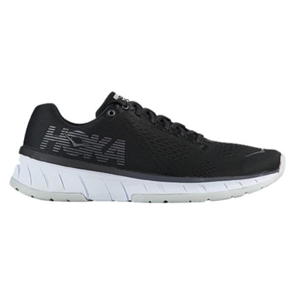ホカ オネオネ レディース ランニング・ウォーキング シューズ・靴【Cavu】Black/White