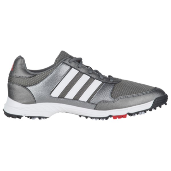 アディダス メンズ ゴルフ シューズ・靴【Tech Response Golf Shoes】Iron Metallic/White/Black