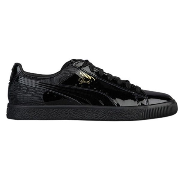 プーマ メンズ バスケットボール シューズ・靴【Clyde】Black/Black