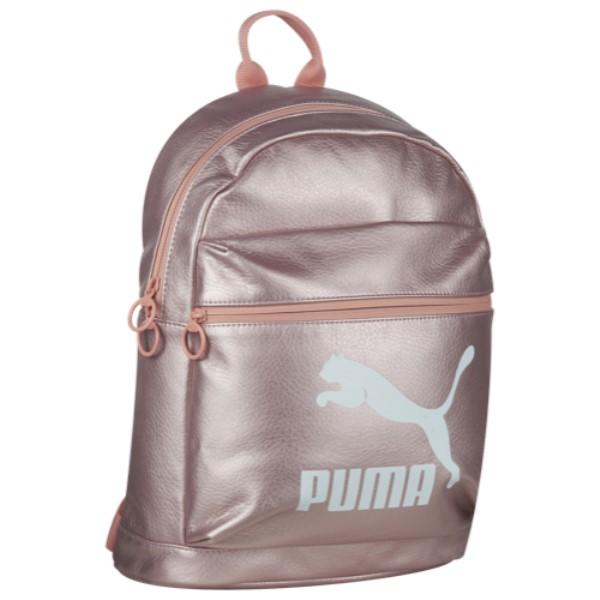 プーマ ユニセックス バッグ バックパック・リュック【Prime Metallic Backpack】Light Pastel Pink/Peach Beige Metallic