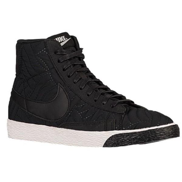 ナイキ レディース バスケットボール シューズ・靴【Blazer Mid Premium】Black/Black/Ivory