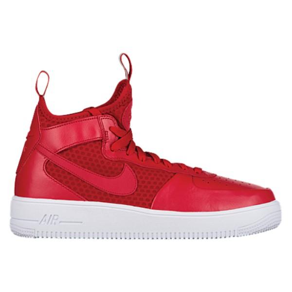 ナイキ メンズ バスケットボール シューズ・靴【Air Force 1 Ultraforce Mid】Gym Red/White/Gym Red