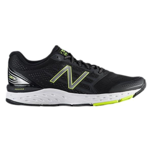 ニューバランス メンズ ランニング・ウォーキング シューズ・靴【680 V5】Black/Steel/Hi-Lite