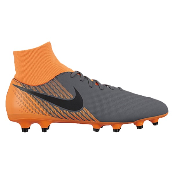 ナイキ メンズ サッカー シューズ・靴【Magista Obra 2 Academy DF FG】Dark Grey/Black/Total Orange