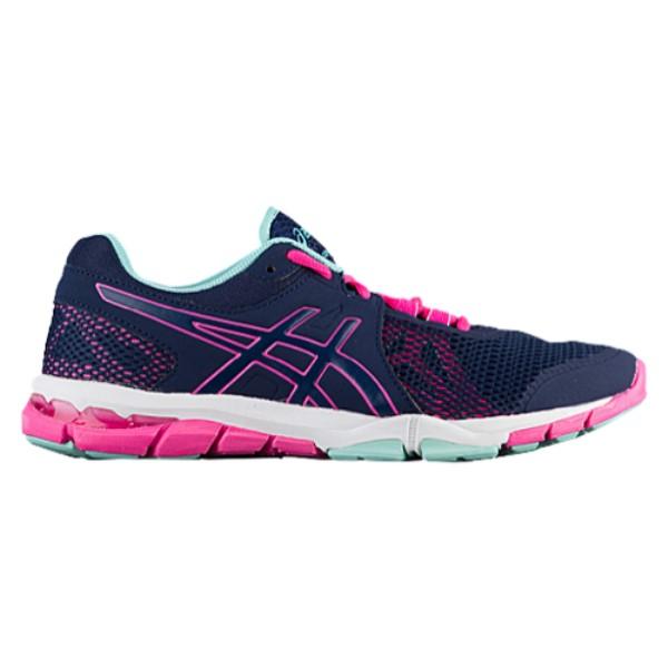 アシックス レディース フィットネス・トレーニング シューズ・靴【GEL-Craze TR 4】Indigo Blue/Hot Pink