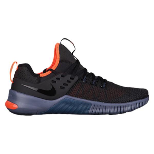 ナイキ メンズ フィットネス・トレーニング シューズ・靴【Metcon Free】Black/Thunder Blue/Hyper Crimson/Light Carbon