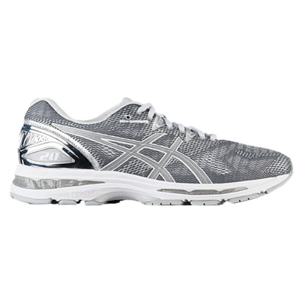 アシックス メンズ ランニング・ウォーキング シューズ・靴【GEL-Nimbus 20】Carbon/Silver/White