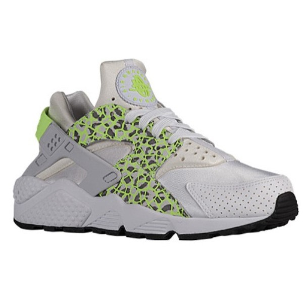 ナイキ レディース ランニング・ウォーキング シューズ・靴【Air Huarache】White/Ghost Green/Pure Platinum