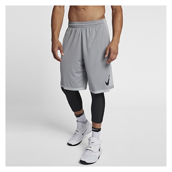 ナイキ メンズ バスケットボール ボトムス・パンツ【Dribble Drive Shorts】Wolf Grey/Black