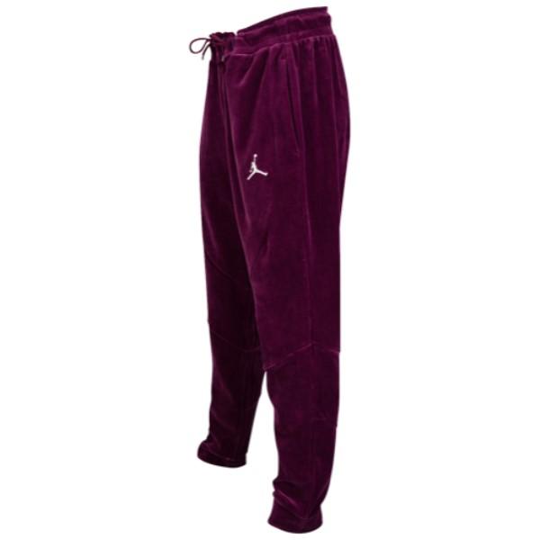 ナイキ ジョーダン メンズ ボトムス・パンツ【JSW Velour Pants】Bordeaux