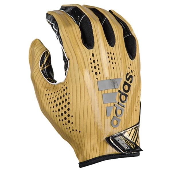 アディダス メンズ アメリカンフットボール グローブ【Adizero 5-Star 7.0 Receiver Gloves】Metallic Gold/Black
