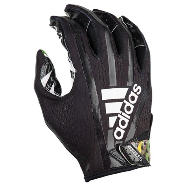 アディダス メンズ アメリカンフットボール グローブ【adiZero 5-Star 7.0 Receiver Glove】Black/White/Multi Color