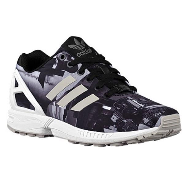 アディダス レディース ランニング・ウォーキング シューズ・靴【ZX Flux】Black/White