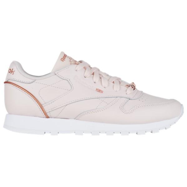 リーボック レディース ランニング・ウォーキング シューズ・靴【Classic Leather】Pale Pink/Rose Gold/White