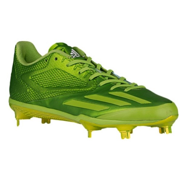 アディダス メンズ 野球 シューズ・靴【adiZero Afterburner 3】Super Color E Semi Solar Green