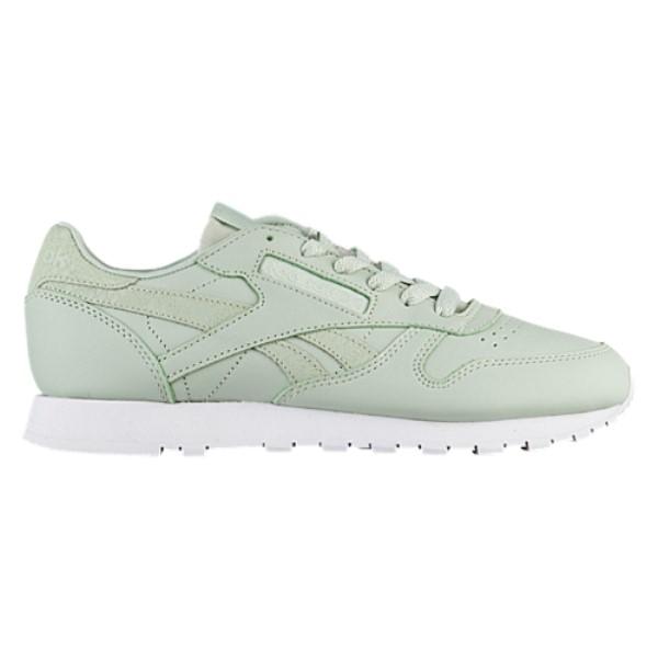 リーボック レディース ランニング・ウォーキング シューズ・靴【Classic Leather】Eucalyptus/White
