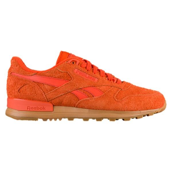 リーボック メンズ ランニング・ウォーキング シューズ・靴【Classic Leather 2.0】Orange/Gum