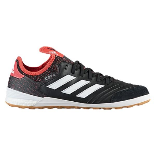 アディダス メンズ サッカー シューズ・靴【Copa Tango 18.1 IN】Core Black/Footwear White/Real Coral