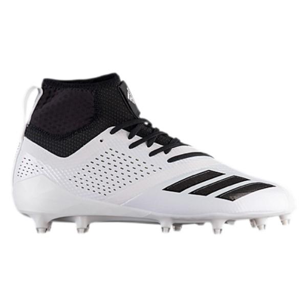 アディダス メンズ アメリカンフットボール シューズ・靴【adiZero 5-Star 7.0 Mid】White/White/Black