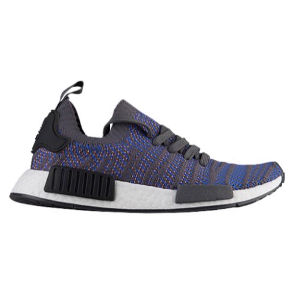 アディダス メンズ ランニング・ウォーキング シューズ・靴【NMD R1 STLT Primeknit】Hi-Res Blue/Black/Chalk Coral