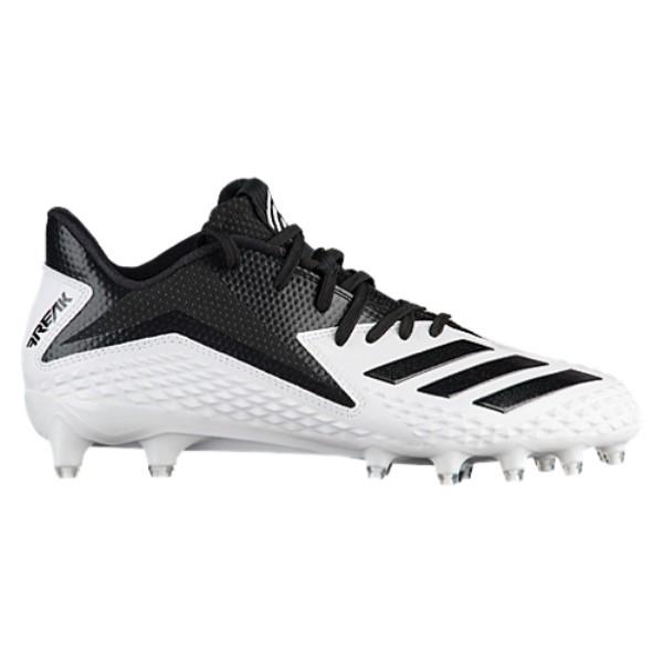 アディダス メンズ アメリカンフットボール シューズ・靴【Freak X Carbon Low】White/Black/Black