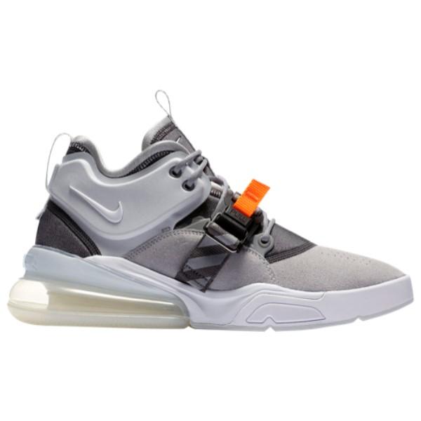 ナイキ メンズ バスケットボール シューズ・靴【Air Force 270】Wolf Grey/White/Dark Grey/Sail
