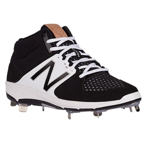 ニューバランス メンズ 野球 シューズ・靴【3000V3 Metal Mid】Black/Black