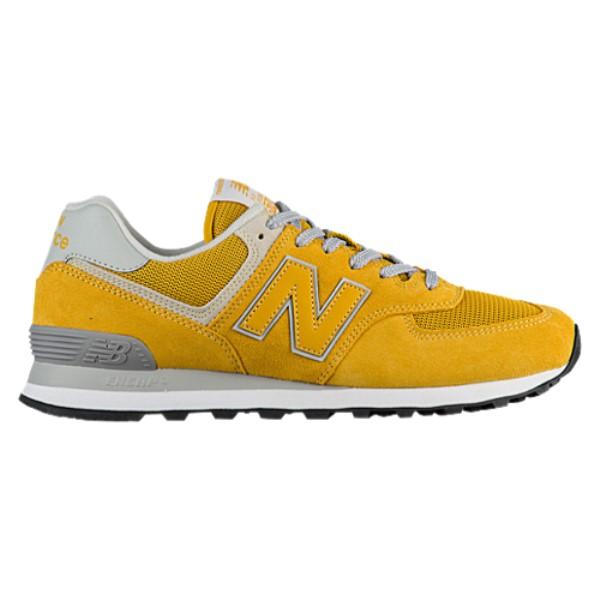 ニューバランス メンズ ランニング・ウォーキング シューズ・靴【574 Classic】Varsity Gold