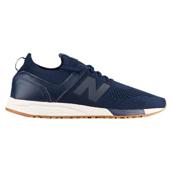 ニューバランス メンズ ランニング・ウォーキング シューズ・靴【247】Navy/White
