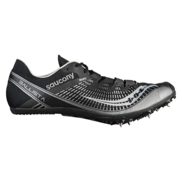 サッカニー メンズ 陸上 シューズ・靴【Ballista】Black/Silver