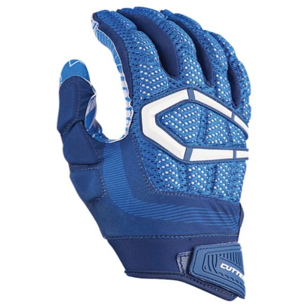 カッターズ メンズ アメリカンフットボール グローブ【Gamer 3.0 Padded Football Gloves】Royal